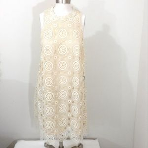 NWT Free People Ivory Shift Dress